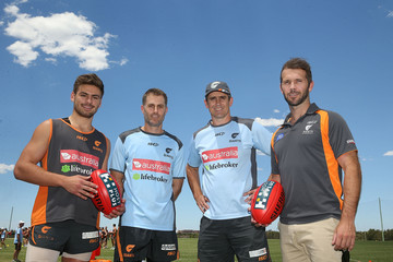 Mark McVeigh Greater Western Sydney Giants Media Call