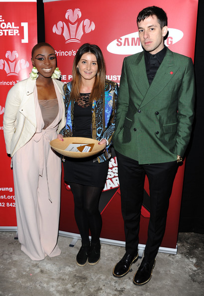 Backstage at the Prince's Trust and Success Awards