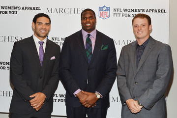 Mark Sanchez Greg McElroy Limited Edition Marchesa/NFL Collaboration Launch