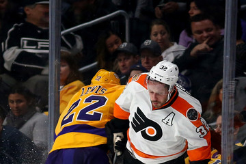 Mark Streit Philadelphia Flyers v Los Angeles Kings
