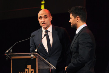 Mark Strong Arrivals at the Moet British Independent Film Awards