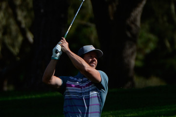 Mark Wahlberg AT&T Pebble Beach National Pro-Am - Round One