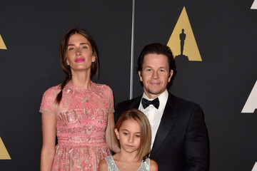 Mark Wahlberg Ella Wahlberg Academy Of Motion Picture Arts And Sciences' 2014 Governors Awards - Arrivals