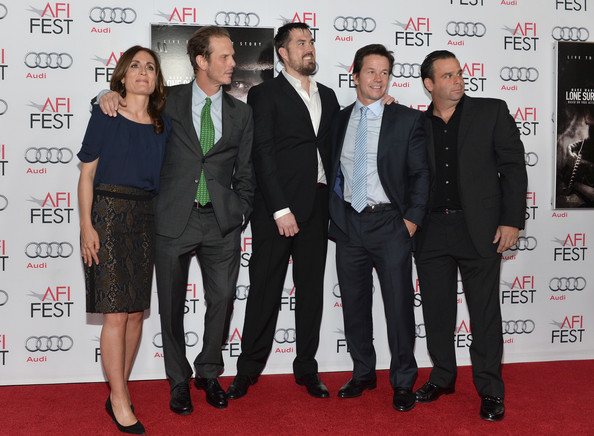 Mark Wahlberg and Marcus Luttrell Photos Photos - AFI FEST
