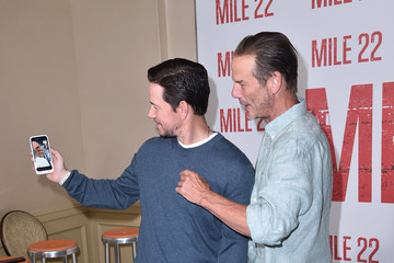 Mark Wahlberg Peter Berg Photo Call For STX Films' 'Mile 22' - Arrivals