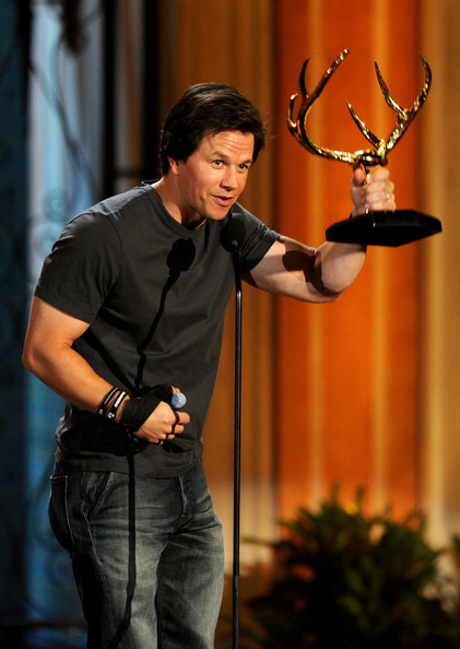 "Mark Wahlberg Actor Mark Wahlberg accepts the Guy of the Year award onstage during Spike TV's 5th annual 2011 ""Guys Choice"" Awards at Sony Pictures Studios on June 4, 2011 in Culver City, California."