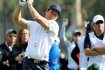 Mark Wahlberg Genesis Open - Preview Day 3