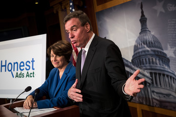 Mark Warner Democrats Announce Legislation to Prevent Foreign Interference in Elections