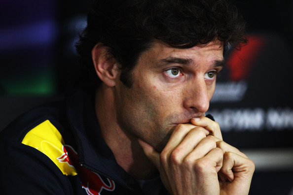 Mark Webber Mark Webber of Australia and Red Bull Racing attends the drivers press conference during previews to the Hungarian Formula One Grand Prix at the Hungaroring on July 28, 2011 in Budapest, Hungary.