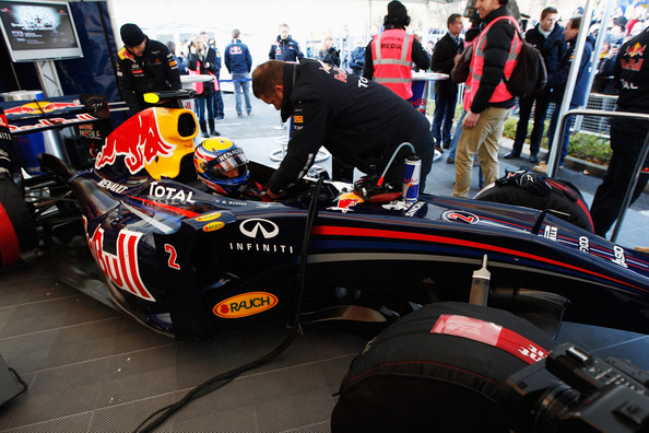 Red Bull Racing Show Run Milton Keynes