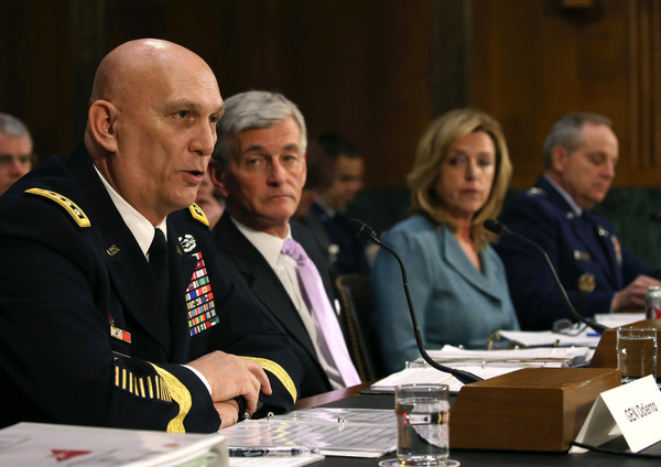 Top Military Officials Testify to Senate Committee