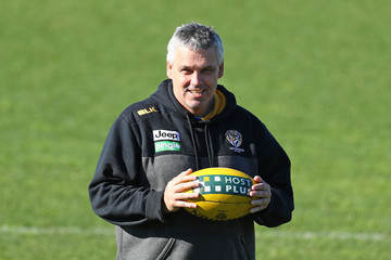 Mark Williams Richmond Tigers Training Session