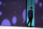 Facebook CEO Mark Zuckerberg walks off stage after speaking during the F8 Facebook Developers conference on May 1, 2018 in San Jose, California. Facebook CEO Mark Zuckerberg delivered the opening keynote to the FB Developer conference that runs through May 2.