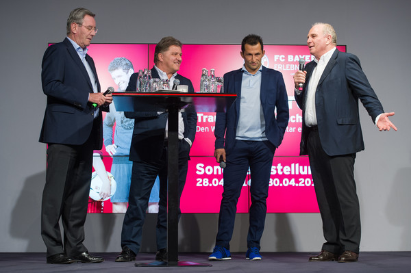 FC Bayern Muenchen Opens Exhibition 'Professional Football Player  - Dream and Reality'