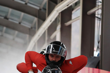 Markus Sammer Bobsleigh - Winter Olympics Day 15