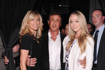 Marla Maples Sylvester Stallone Celebrates His Magazine Cover