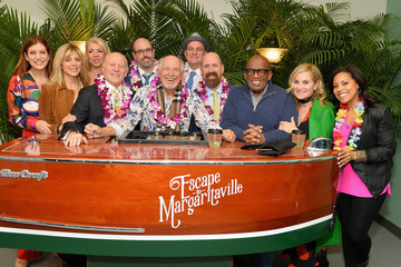 Marla Maples Jimmy Buffett And Cast Of 'Escape Tp Margaritaville' Celebrate Broadway Opening