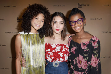 Marley Dias The Teen Vogue Summit LA: Keynote Conversation With 'A Wrinkle In Time' Director Ava Duvernay and Actresses Rowan Blanchard and Storm Reid