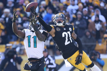 Marqise Lee Divisional Round - Jacksonville Jaguars v Pittsburgh Steelers
