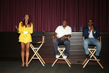 Marques Houston Brett Dismuke BET Original Co-Production At The Paramount Screen Room
