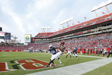 Marqueston Huff Tennessee Titans v Tampa Bay Buccaneers