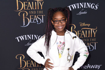 Marsai Martin Premiere Of Disney's 'Beauty And The Beast' - Arrivals