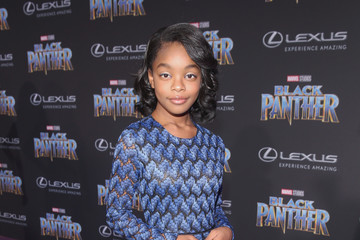 Marsai Martin The Los Angeles World Premiere of Marvel Studios' 'Black Panther'