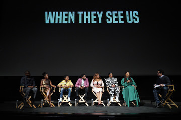 Marsha Stephanie Blake Jharrel Jerome FYC Event For Netflix's 'When They See Us' - Panel