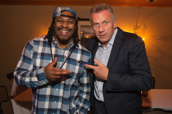 FAM 1st Family Foundation Charity Event  [event,design,plaid,tartan,pattern,photography,party,marshawn lynch,joe montana,seattle,the edgewater hotel,wa,seattle seahawks,l,fam 1st family foundation charity event]