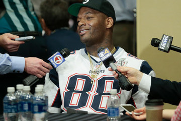 Martellus Bennett New England Patriots Media Availability
