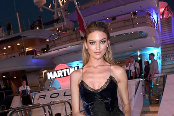 Martha Hunt Williams Martini Racing Yacht Party