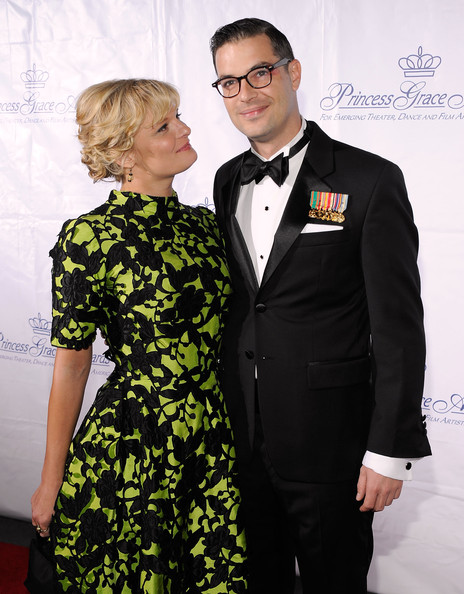 Actress Martha Plimpton and Edward Owens attended together Princess Grace Awards Gala in 2009