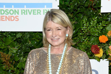 Martha Stewart Jay Leno Hosts The 20th Anniversary Gala To Celebrate Hudson River Park - Arrivals