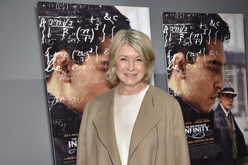 Martha Stewart 'The Man Who Knew Infinity' New York Screening - Arrivals