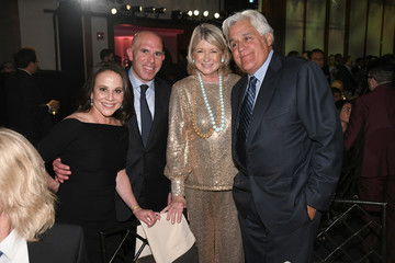 Martha Stewart Jay Leno Hosts The 20th Anniversary Gala To Celebrate Hudson River Park - Inside