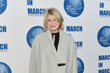 Martha Stewart 2017 UN Women for Peace Association March In March Awards Luncheon