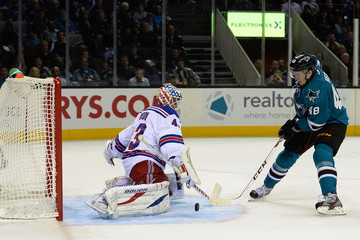 Martin Biron New York Rangers v San Jose Sharks