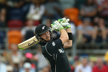 Martin Guptill Australia v New Zealand - ODI Game 2