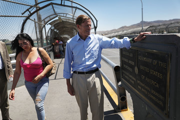 Martin Heinrich Trump's 'Zero Tolerance' Immigration Policy Stirs Controversy And Confusion In Mexican Border Towns