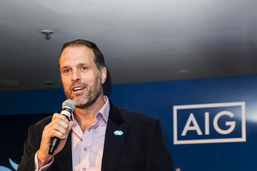 Martin Johnson AIG Rugby World Cup Industry Event Party