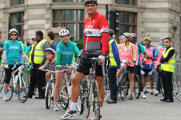 Martin Johnson Prudential RideLondon
