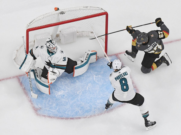San Jose Sharks v Vegas Golden Knights - Game Six