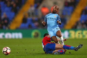 Martin Kelly Crystal Palace v Manchester City - The Emirates FA Cup Fourth Round