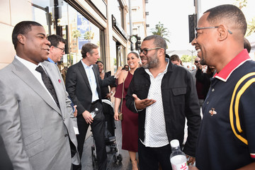 Martin Lawrence Tracy Morgan's Star Ceremony On The Hollywood Walk Of Fame