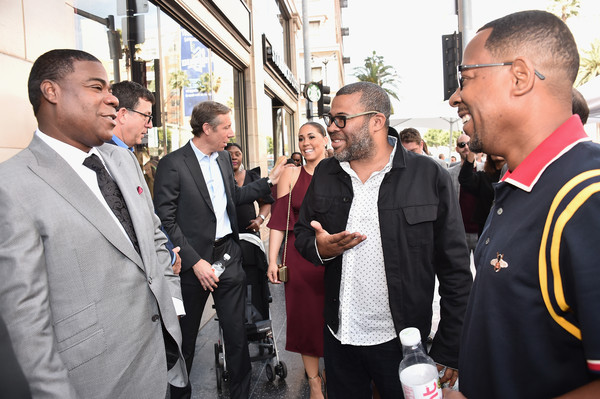 Tracy Morgan's Star Ceremony On The Hollywood Walk Of Fame