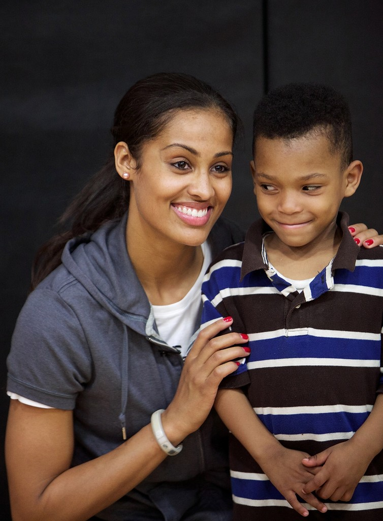 skylar diggins in the martin luther king center in south