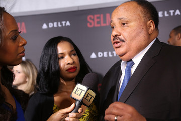 "Martin Luther King III ""Selma"" New York Premiere - Outside Arrivals"