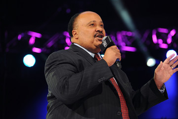 Martin Luther King III Celebs Honor Martin Luther King, Jr. at 'We Day' in Seattle