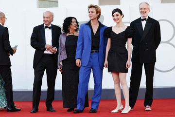 """Martin Schweighofer Amalia Ulman """"Madres Paralelas"""" Red Carpet And Opening Ceremony - The 78th Venice International Film Festival"""