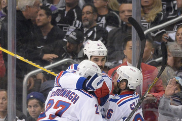 Martin St. Louis Chris Kreider 2014 NHL Stanley Cup Final - Game Five